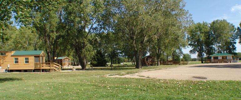El dorado state park walnut river cabin complex el for El dorado cabins