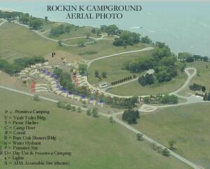 Rockin' K Campground Aerial Photo