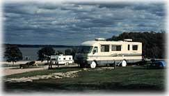 A RV at Perry State Park