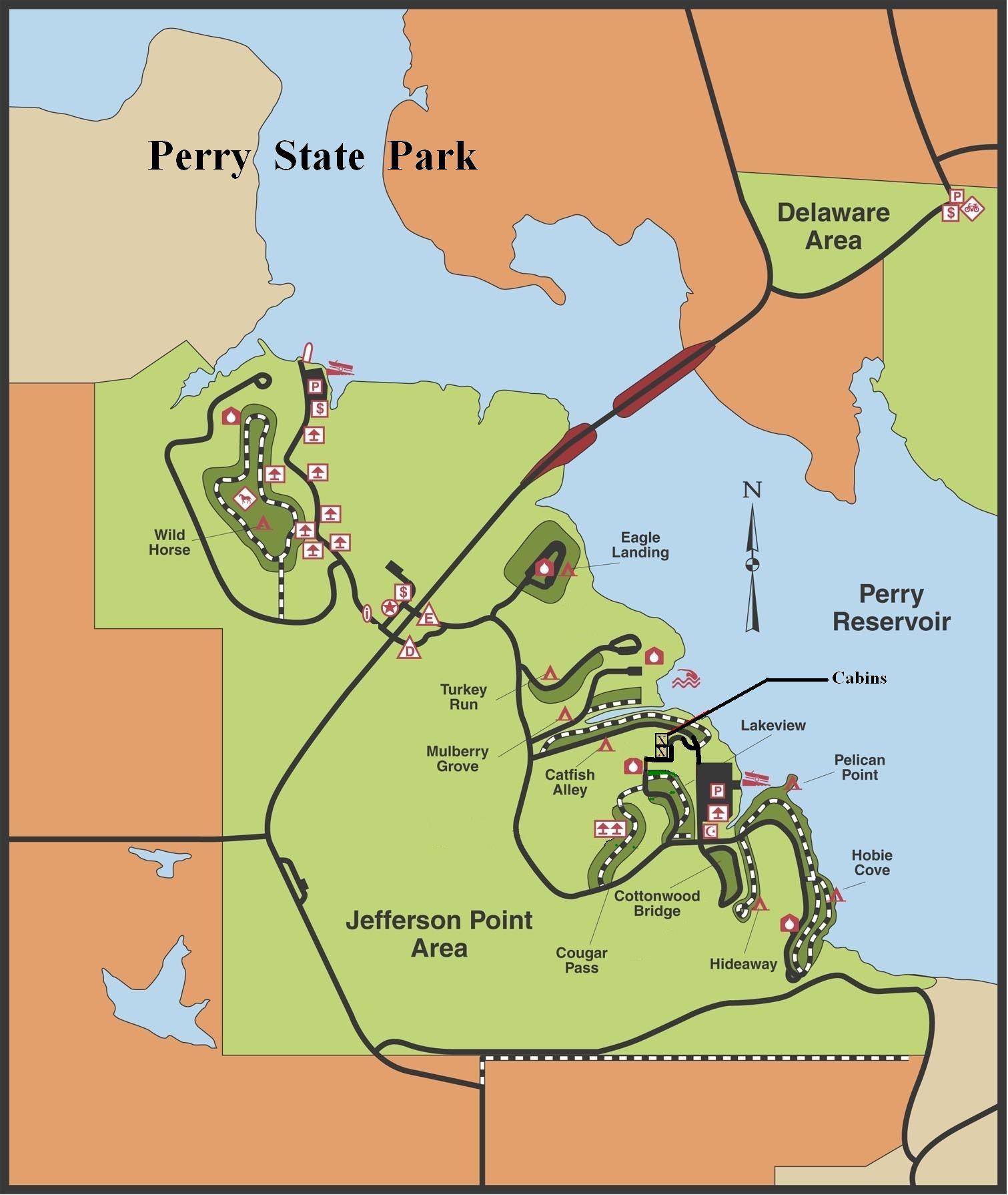 perry lake kansas map Perry Gallery Perry Locations State Parks Kdwpt Kdwpt perry lake kansas map