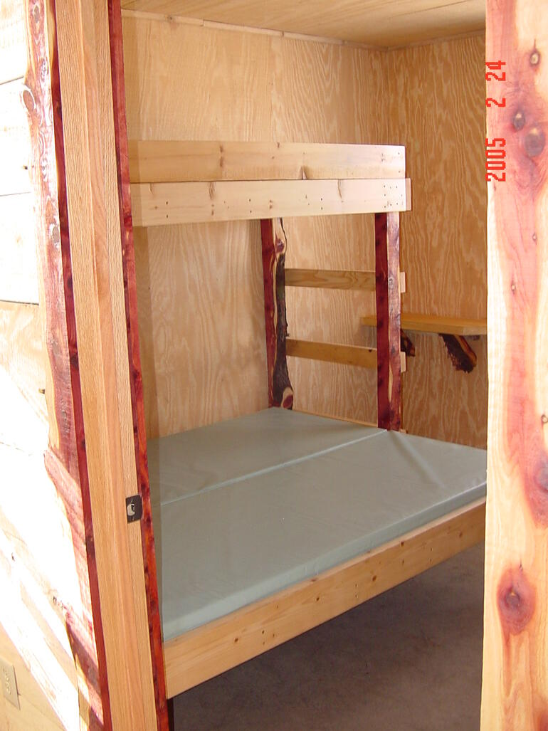 Cabin Bedroom #1