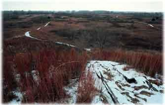 Sand Hills during Winter Time