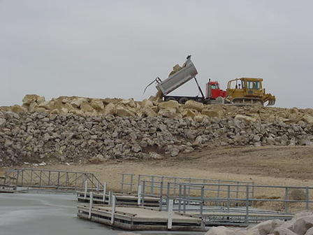 breakwater construction